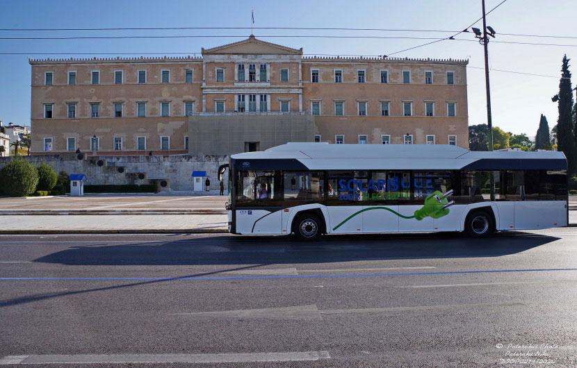 ΟΣΥ - ηλεκτροκίνητο λεωφορείο