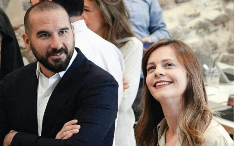 Δημήτρης Τζανακόπουλος, Έφη Αχτσιόγλου