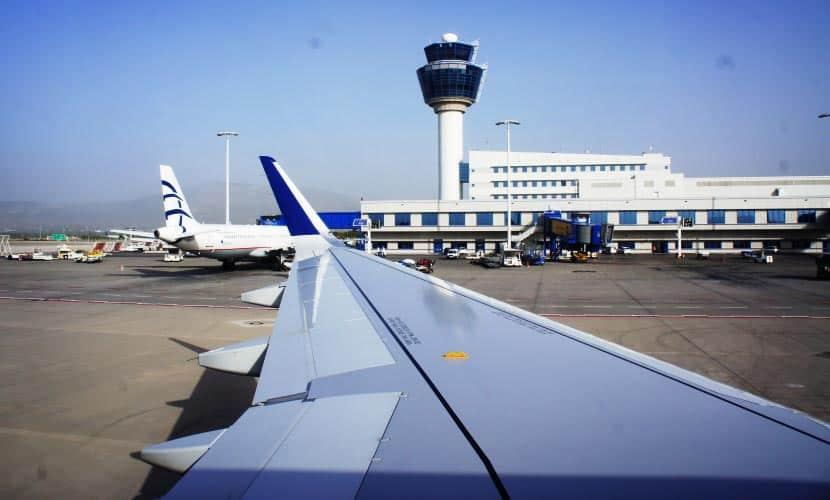 Αεροπλάνο - ταξίδι - διαβατήριο