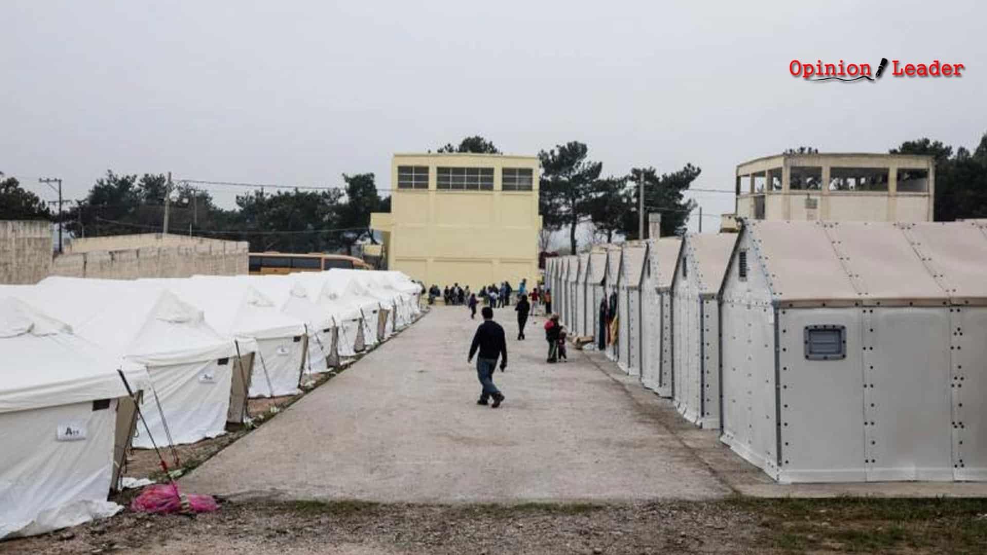 προσφυγικό καμπ - Θεσσαλονίκη
