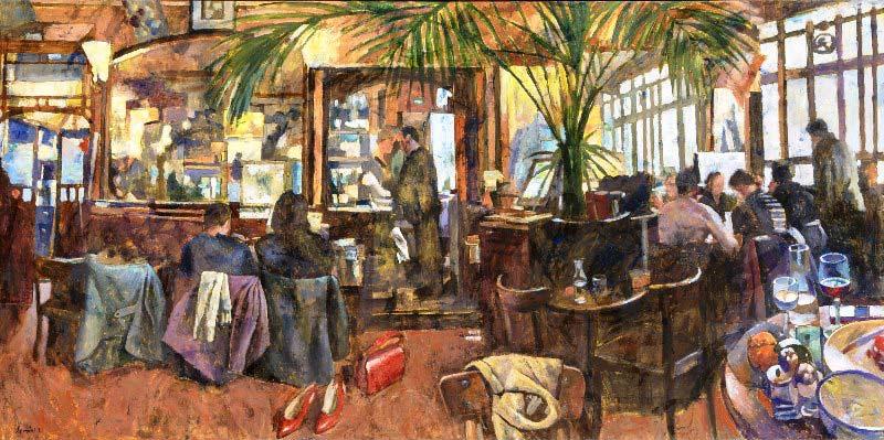 Παύλος Σάμιος - Cafe Paris