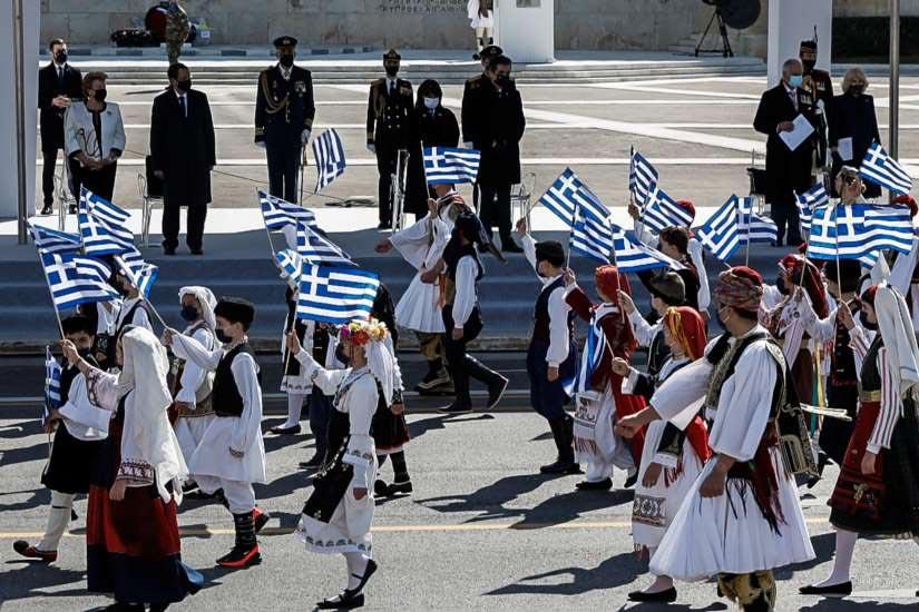 25η Μαρτίου Ιστορική παρέλαση - 200 χρόνια