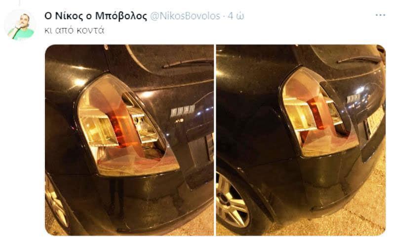 σπάνε αυτοκίνητο στη Πανόρμου