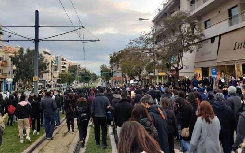 Νέας Σμύρνης - πορεία πολίτες