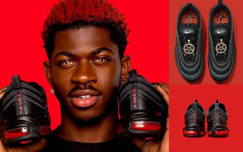 «Σατανικά» αθλητικά παπούτσια