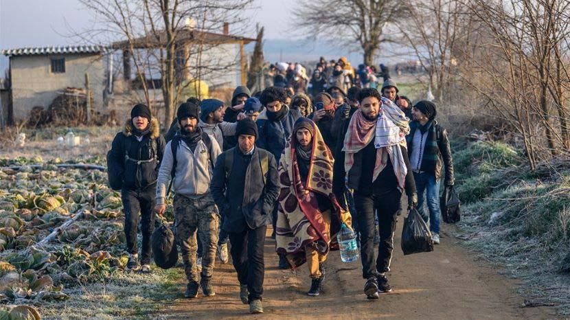 Έβρος - μετανάστες