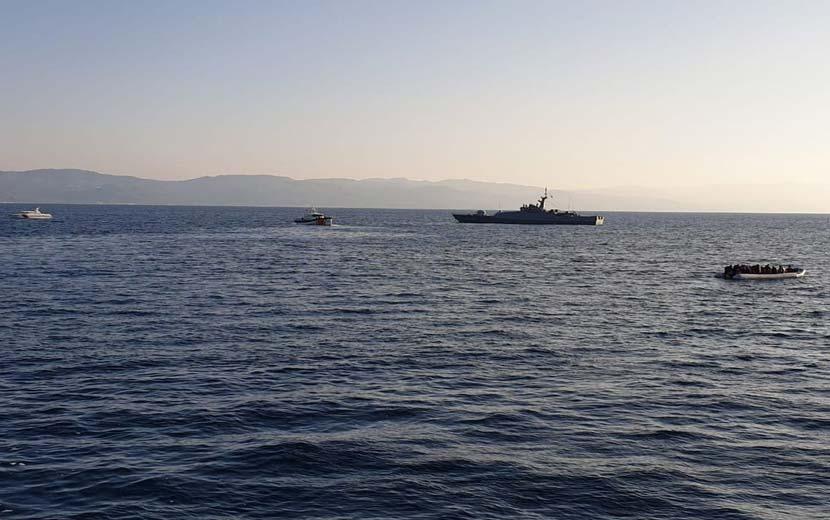 Τούρκοι λέμβους αλλοδαπούς - Ελληνικά ύδατα
