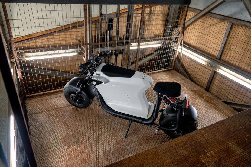 Bull-e: Το πρωτότυπο ηλεκτρικό σκούτερ για την πόλη
