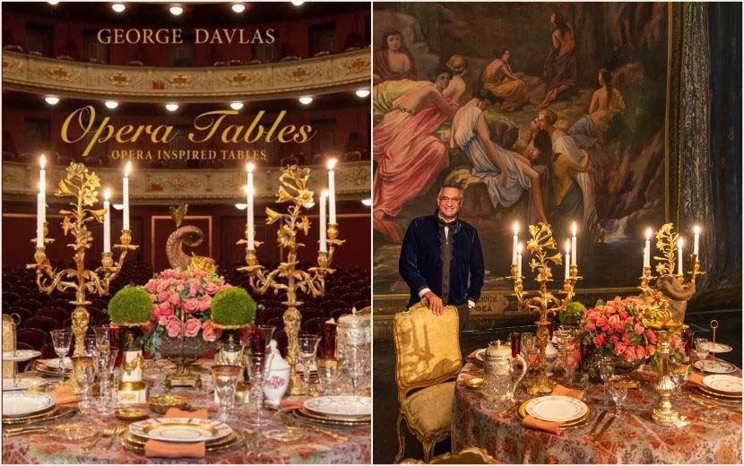 Gala Maria Callas - Γιώργος Ντάβλας - coffee Opera Tables