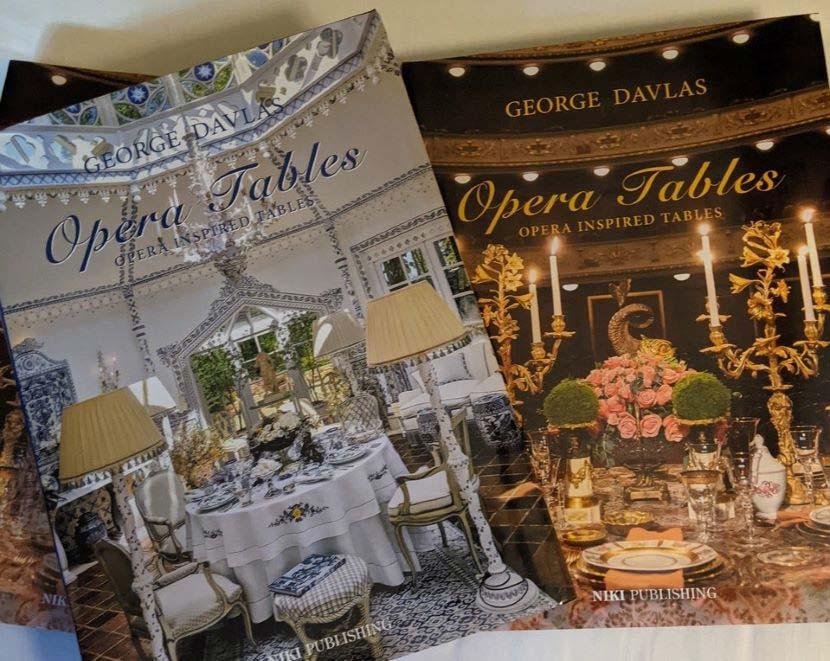 Στην εκδήλωση Maria Callas Monaco Gala & Awards παρουσιάστηκε για πρώτη φορά το coffee table βιβλίο «Opera Tables» του Γιώργου Ντάβλα