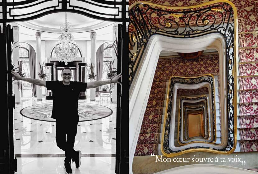 Ο Γιώργος Ντάβλας συνδυάζει την κλασική μουσική με το Art de la table στο πρώτο του βιβλίο «Οpera Tables»