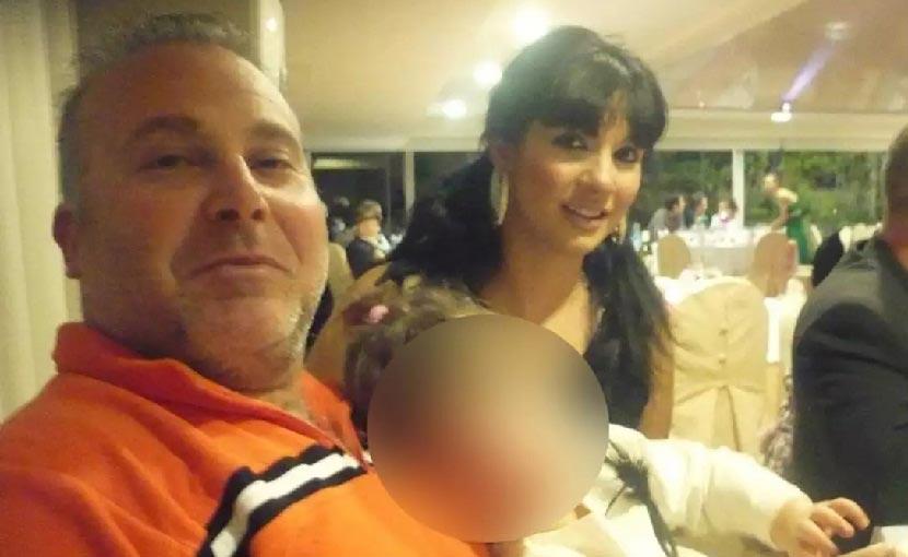 Διονύσης Κορφιάτης, γνωστός ως Ντίμης και η 37χρονη σύζυγός του