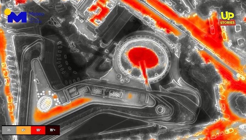Αθήνα - καύσωνας - drone