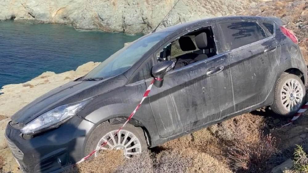 Έγκλημα στη Φολέγανδροη - το αυτοκίνητο του δολοφόνου