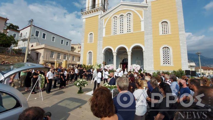 κηδεία 7χρονης Αναστασίας - Ανιψιά Πρεζεράκου