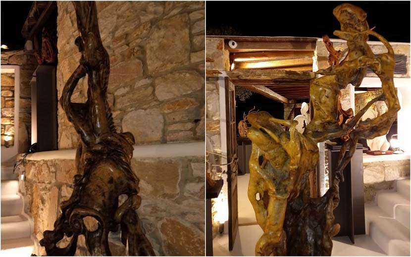 Γιώργος Ψαραδέλης - Έκθεση γλυπτικής - Ο χορός του χωροχρόνου