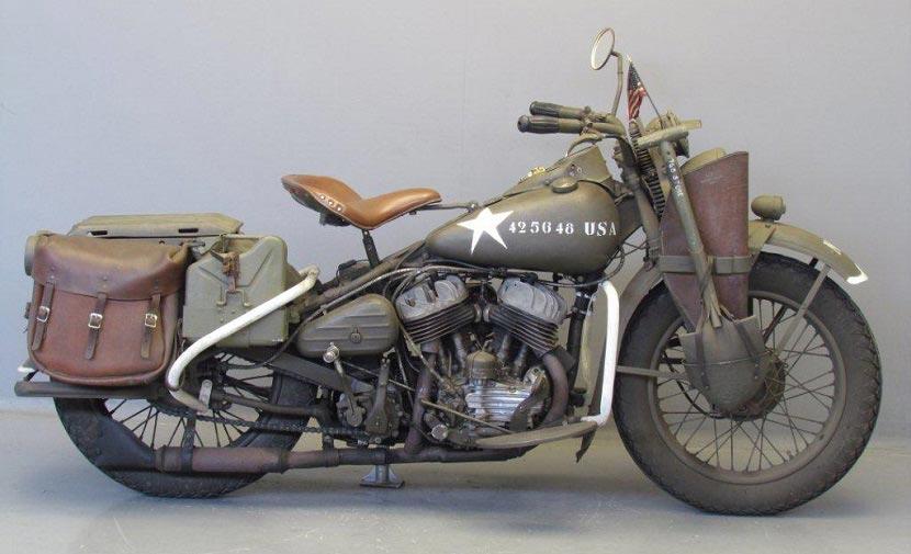 Harley Davinson Wla 1942