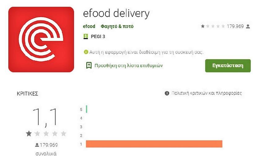 efood - Google Store