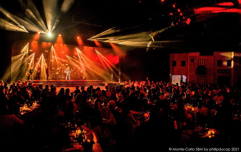 Άννα Βίσση - συναυλία στο Μονακό