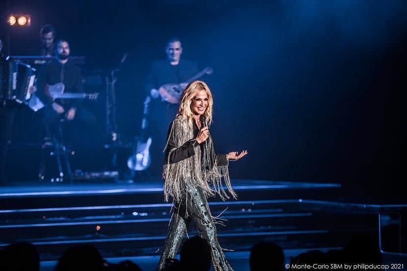 Άννα Βίσση: Με άρωμα Ελλάδας η συναυλία της στο Μονακό