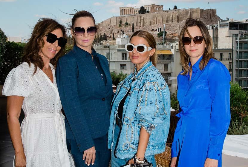 Έλφη Αλεξανδρόγλου, Ευφροσύνη Πολυζώη, Στέλλα Μέλιγκαν, Anna Muromtseva- Regional Head of Sales JYSK Ελλάδας, Ρωσίας και Ουκρανίας