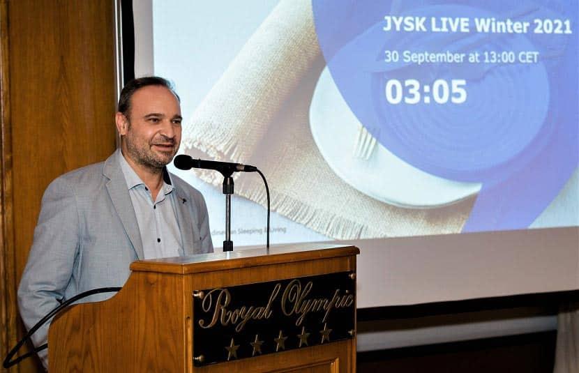 Κώστας Δημόπουλος (Sales & Marketing Manager JYSK Ελλάδας)