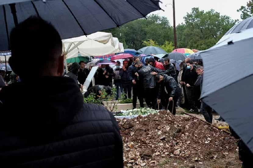 Νίκος Τσουμάνης - κηδεία